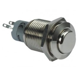 HIGH ROUND METAL SWITCH DPDT 2NO 2NC
