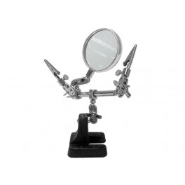 HELPING HAND WITH MAGNIFIER