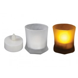FROST GLASS LED CANDLE