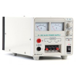 FIXED LABORATORY POWER SUPPLY (0-30VDC + 5VDC + 12VDC)