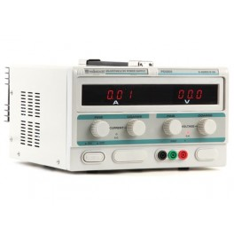 FIXED LAB POWER SUPPLY 0-50V / 0-5A DUAL LED DISPLAY