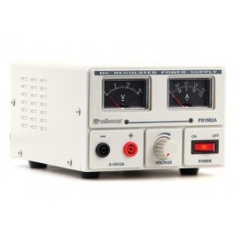 FIXED LAB POWER SUPPLY 0-15V / 2A ANALOGUE DISPLAY