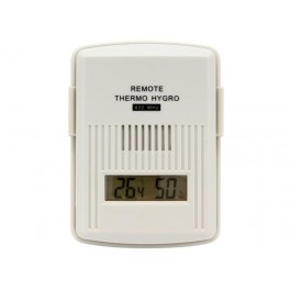EXTRA TRANSMITTER FOR WEATHER STATION / THERMOMETER. HYGROMETER + DISPLAY