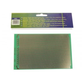 EUROCARD FULL LINE PATTERN - 100x160mm - FR4 (1pc/bl.)