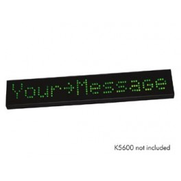 ENCLOSURE FOR K5600 ADVERTISEMENT LED DISPLAY WITH RED LEDS