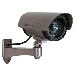 DUMMY BULLET CAMERA WITH DUMMY IR LEDs AND RED LED