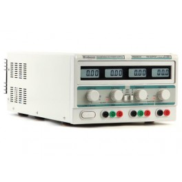 DUAL LAB POWER SUPPLY 2 x 0-30V & 5V / 2 x 0-10A FOUR LCD DISPLAYS