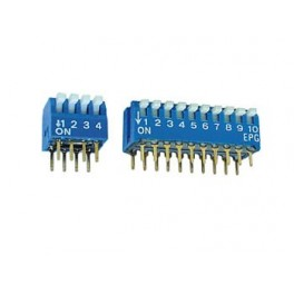 DS-4P PIANO DIP SWITCH 1P AND 4POS