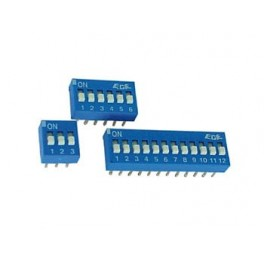 DS-12 DIP SWITCH 1P  12 POS