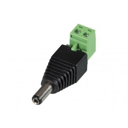DC PLUG 5.5x2.1MM MALE TO SCREW TERMINAL (5pcs)