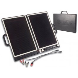 COMPACT SOLAR GENERATOR IN BRIEFCASE DESIGN