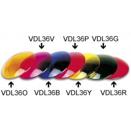 COLOUR LENS FOR PAR36 - YELLOW