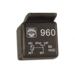CAR RELAY SPDT(ON-ON) 12VDC/20-30A FASTON