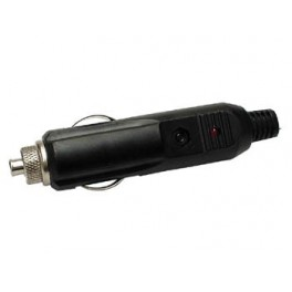 CAR PLUG (CIGARETTE LIGHTER) WITH 3A FUSE AND LED