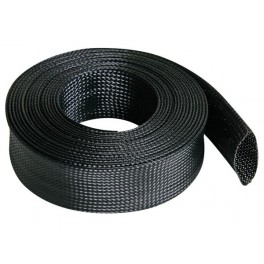 CABLE SLEEVE - 40 mm width - length 5m - black