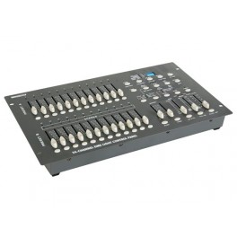 24-CHANNEL DMX LIGHT CONTROL PANEL