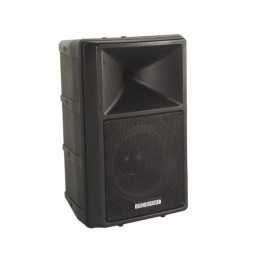 """2-WAY PROFESSIONAL 8"""" ABS SPEAKER WITH AMPLIFIER"""