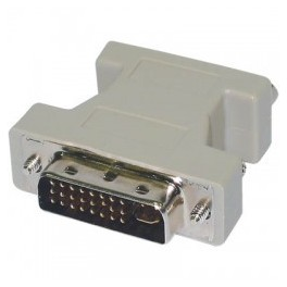 ADAPTER VGA F. TO DVI (24+5) M.