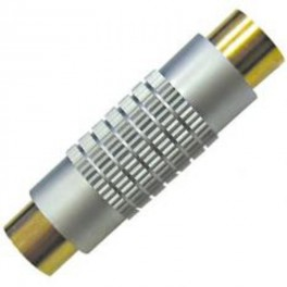 S-VIDEO COUPLER FEM. - FEM. GOLD-PLATED