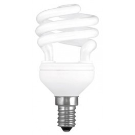 ECONOMIC BULB WINNER SPIRAL SMALL Ε14 - 11W - WARM LIGHT