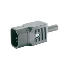 PLUG 3-POLE MALE FOR CABLE OMEGA