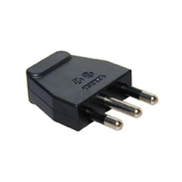 POWER SUPPLY PLUG ITALIAN BLACK