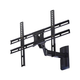 BLACK WALL MOUNT WITH SECOND ARM FOR TFT/LCD TVs 13 -42