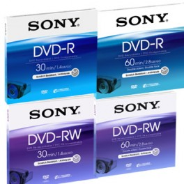 DVD-R 8cm 2.8GB REWRITABLE FOR CAMERAS