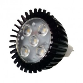 LAMP SPOT LED 5W/MR16 12VAC/DC WARM WHITE 60degr