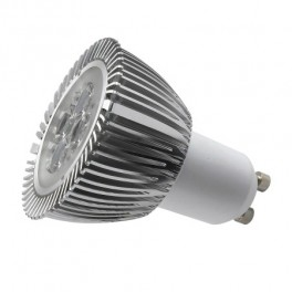 ΛΑΜΠΑ ΜΕ LED 6W DAYLIGHT GU10 - 240VAC 6000K DIMMABLE