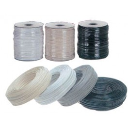 FLAT TELEPHONE CABLE 4C GREY
