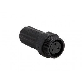 WATERPROOF FEMALE MULTI-PIN CONNECTOR - 3 PINS