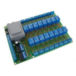 UNIVERSAL RELAY CARD WITH 16 RELAYS