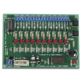 12V, 10-CHANNEL LIGHT EFFECT GENERATOR