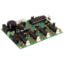 4 CHANNEL USB STEPPER MOTOR CARD