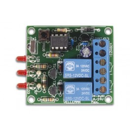 2-CHANNEL IR REMOTE RECEIVER