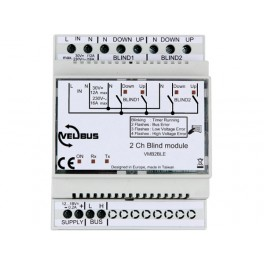 2-CHANNEL BLIND CONTROL MODULE