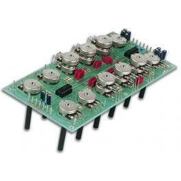 DUAL TONE CONTROL MODULE FOR AUDIO MIXER