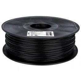"3 mm (1/8"") PLA FILAMENT - BLACK - 1 kg / 2.2 lb"