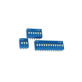 DIP SWITCH 1P  8POS