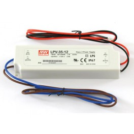 SWITCHING POWER SUPPLY - SINGLE OUTPUT - 35 W - 12 V