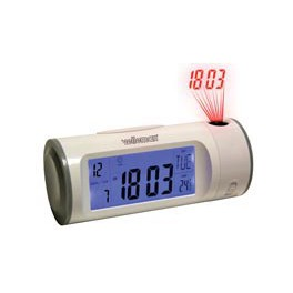 PROJECTION CLOCK WITH CALENDAR/THERMOMETER/TIMER