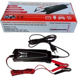INTELLIGENT 7 STEP BATTERY CHARGER WITH CC/CV CONTROL 6V & 12V/4A