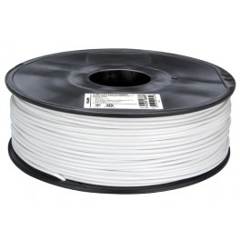 "3 mm (1/8"") PLA FILAMENT - WHITE - 1 kg / 2.2 lb"