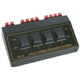 4 WAY STEREO SPEAKER CONTROL