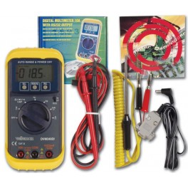 DIGITAL MULTIMETER 10A WITH RS232 OUTPUT + SOFTWARE