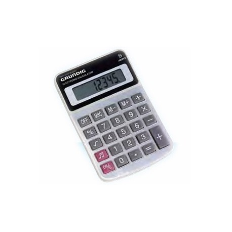 DIGITAL CALCULATRO WITH 8 DIGITS GRUNDIG