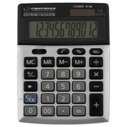 TABLE CALCULATOR WITH LARGE DISPLAY & 12 DIGITS