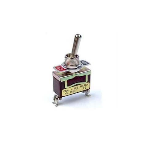 MAXI TOGGLE SWITCH SPDT ON-OFF 10A/250V