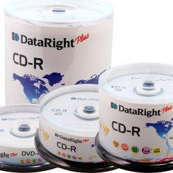 CD-R/80 52x 700MB ΣΕ ΚΟΡΙΝΑ 25τεμ. DATARIGHT